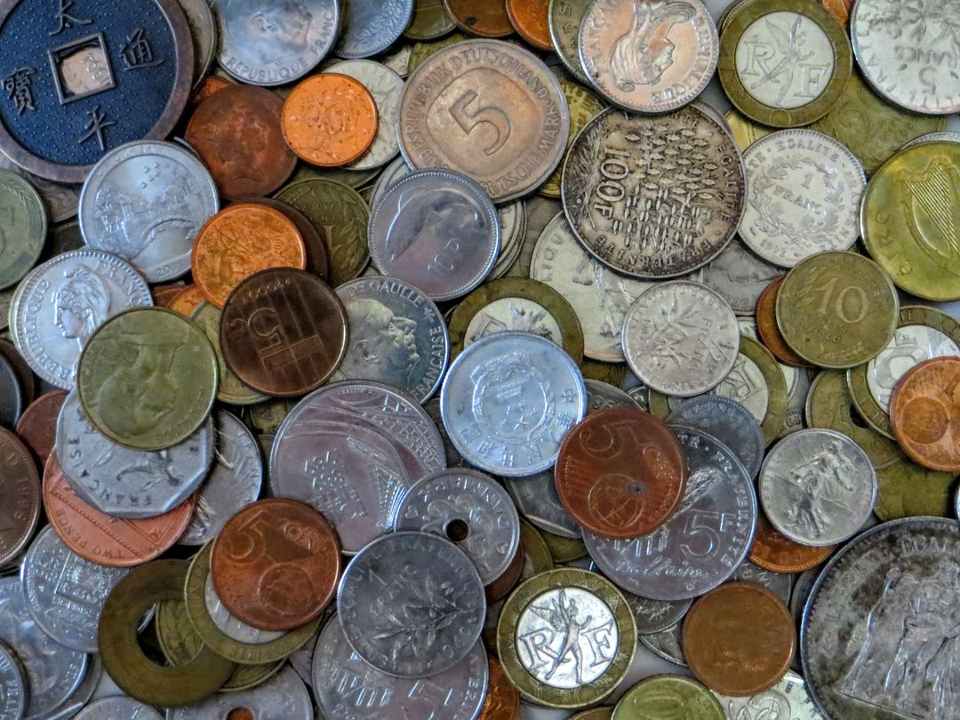 Coins countries money old