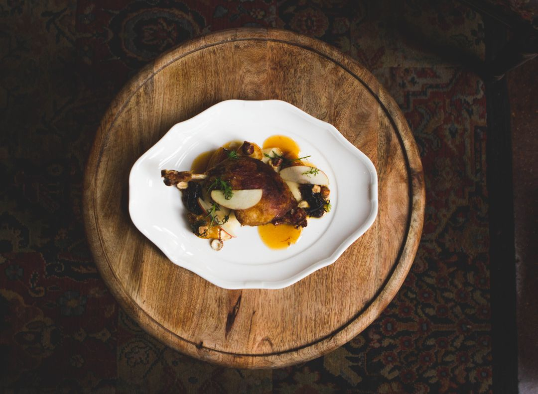 How To Start A Food Blog - duck plate