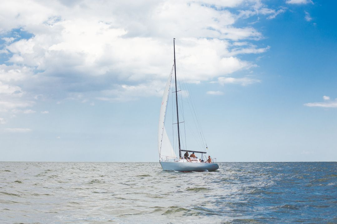 Sailboat Vessel Catamaran