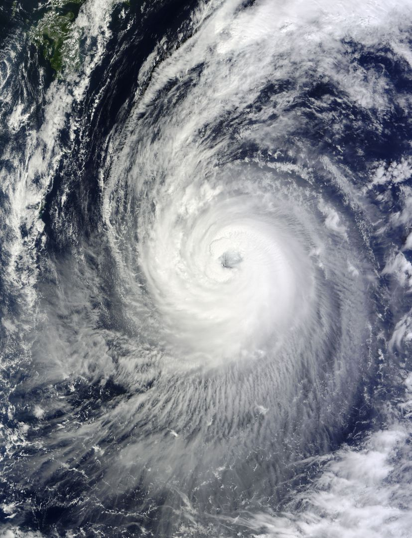 "NASA's Terra satellite captured this image of Typhoon Phanfone and its large eye in the western Pacific Ocean on Friday, Oct. 3 at 1:55 UTC.  On Oct. 3 at 0900 UTC (5 a.m. EDT), Typhoon Phanfone's maximum sustained winds were near 110 knots (126.6 mph/203.7 kph). It was centered near 23.6 north longitude and 134.4 east latitude, about 374 nautical miles west-southwest of the island of Iwo To. Phanfone has tracked northwestward at 12 knots (13.8 mph/22.2 kph).   Read more: <a href=""http://1.usa.gov/1vjS1vs"" rel=""nofollow"">1.usa.gov/1vjS1vs</a>  Credit: NASA Goddard MODIS Rapid Response Team  <b><a href=""http://www.nasa.gov/audience/formedia/features/MP_Photo_Guidelines.html"" rel=""nofollow"">NASA image use policy.</a></b>  <b><a href=""http://www.nasa.gov/centers/goddard/home/index.html"" rel=""nofollow"">NASA Goddard Space Flight Center</a></b> enables NASA's mission through four scientific endeavors: Earth Science, Heliophysics, Solar System Exploration, and Astrophysics. Goddard plays a leading role in NASA's accomplishments by contributing compelling scientific knowledge to advance the Agency's mission. <b>Follow us on <a href=""http://twitter.com/NASAGoddardPix"" rel=""nofollow"">Twitter</a></b> <b>Like us on <a href=""http://www.facebook.com/pages/Greenbelt-MD/NASA-Goddard/395013845897?ref=tsd"" rel=""nofollow"">Facebook</a></b> <b>Find us on <a href=""http://instagram.com/nasagoddard?vm=grid"" rel=""nofollow"">Instagram</a></b>"