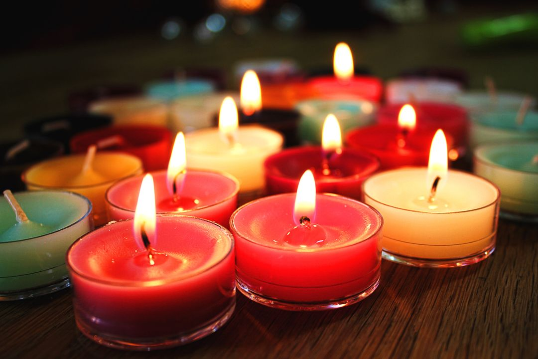 Advent candlelight candles christmas