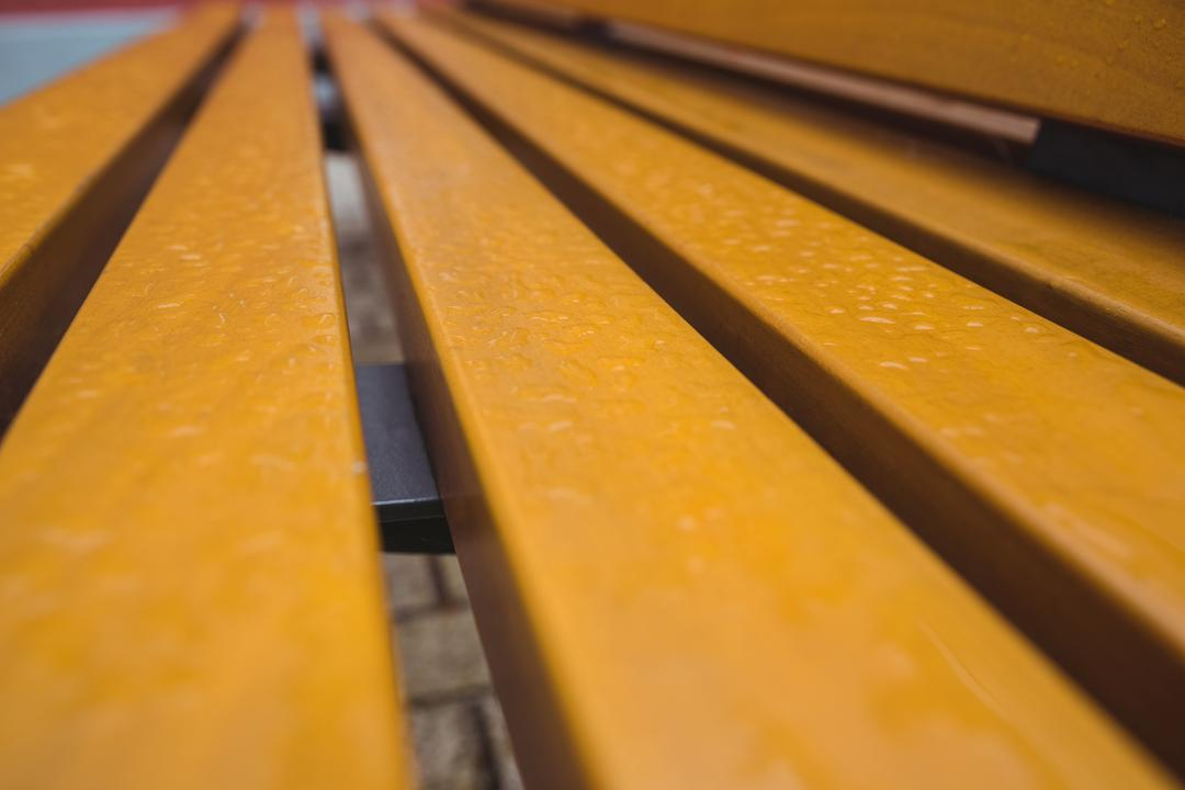 Close-up of wooden strips on bench, backgrounds Free Stock Images from PikWizard