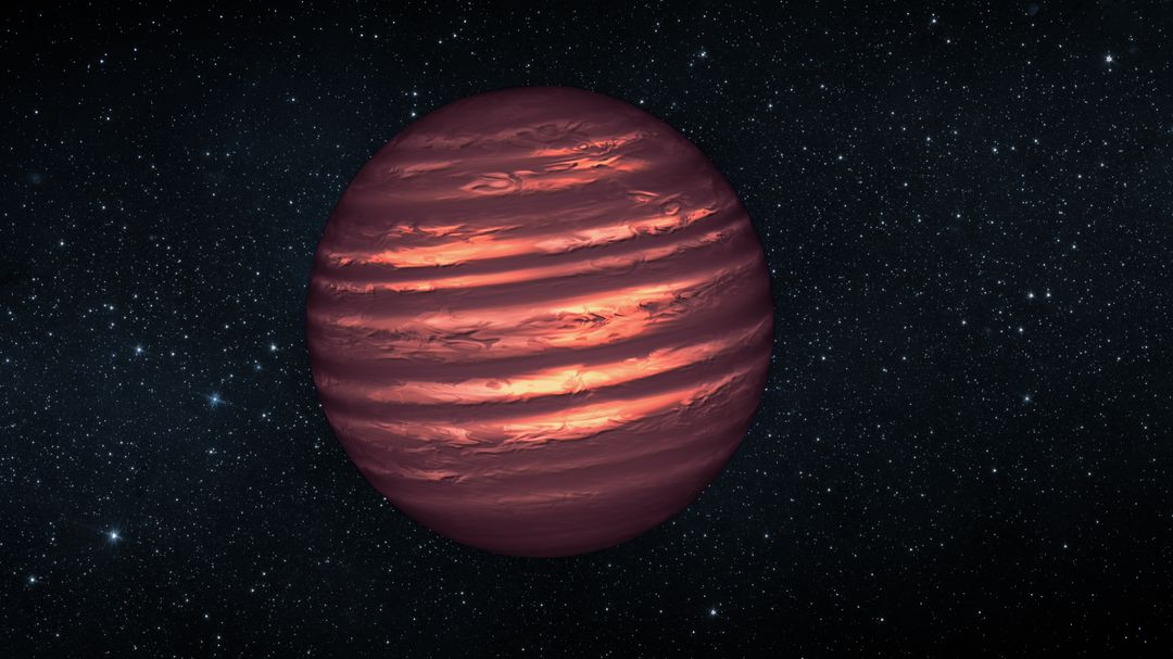 "JANUARY 8, 2013: Astronomers using NASA's Hubble and Spitzer space telescopes have probed the stormy atmosphere of a brown dwarf named 2MASSJ22282889-431026, creating the most detailed &quot;weather map&quot; yet for this class of cool, star-like orbs. The forecast shows wind-driven, planet-sized clouds enshrouding these strange worlds. Brown dwarfs form out of condensing gas, as stars do, but lack the mass to fuse atoms and produce energy. Instead, these objects, which some call failed stars, are more similar to gas planets with their complex, varied atmospheres. The new research is a stepping stone toward a better understanding not only brown dwarfs, but also of the atmospheres of planets beyond our solar system.  Hubble and Spitzer simultaneously watched the brown dwarf as its light varied in time, brightening and dimming about every 90 minutes as the body rotated. Astronomers found the timing of this change in brightness depended on whether they looked using different wavelengths of infrared light. The variations are the result of different layers or patches of material swirling around in the brown dwarf in windy storms as large as Earth itself. Spitzer and Hubble see different atmospheric layers because certain infrared wavelengths are blocked by vapors of water and methane high up, while other infrared wavelengths emerge from much deeper layers. Daniel Apai, the principal investigator of the research from the University of Arizona, Tucson, presented the results at the American Astronomical Society meeting on January 8 in Long Beach, Calif. A study describing the results, led by Esther Buenzli, also of the University of Arizona, is published in the Astrophysical Journal Letters. For more information about this study, visit <a href=""http://www.nasa.gov/spitzer"" rel=""nofollow"">www.nasa.gov/spitzer</a> .  <b><a href=""http://www.nasa.gov/audience/formedia/features/MP_Photo_Guidelines.html"" rel=""nofollow"">NASA image use policy.</a></b>  <b><a href=""http://www.nasa.gov/centers/goddard/home/index.html"" rel=""nofollow"">NASA Goddard Space Flight Center</a></b> enables NASA's mission through four scientific endeavors: Earth Science, Heliophysics, Solar System Exploration, and Astrophysics. Goddard plays a leading role in NASA's accomplishments by contributing compelling scientific knowledge to advance the Agency's mission.  <b>Follow us on <a href=""http://twitter.com/NASA_GoddardPix"" rel=""nofollow"">Twitter</a></b>  <b>Like us on <a href=""http://www.facebook.com/pages/Greenbelt-MD/NASA-Goddard/395013845897?ref=tsd"" rel=""nofollow"">Facebook</a></b>  <b>Find us on <a href=""http://instagram.com/nasagoddard?vm=grid"" rel=""nofollow"">Instagram</a></b>"