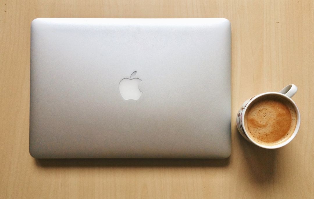 Apple apple device coffee coffee break