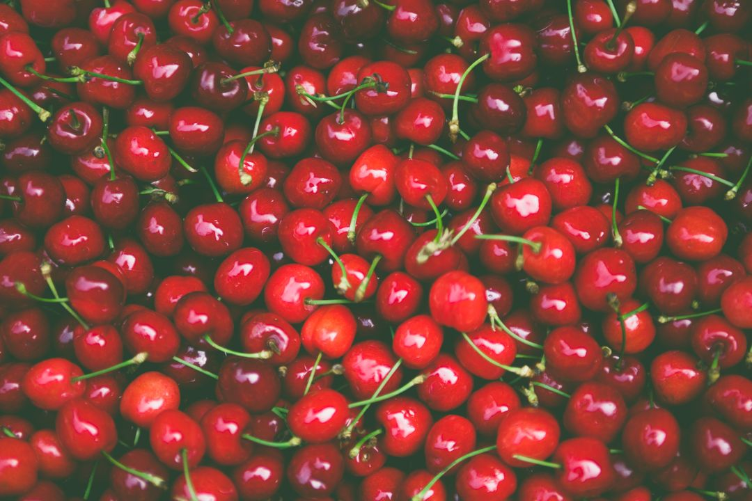 Pile of Cherry Fruit