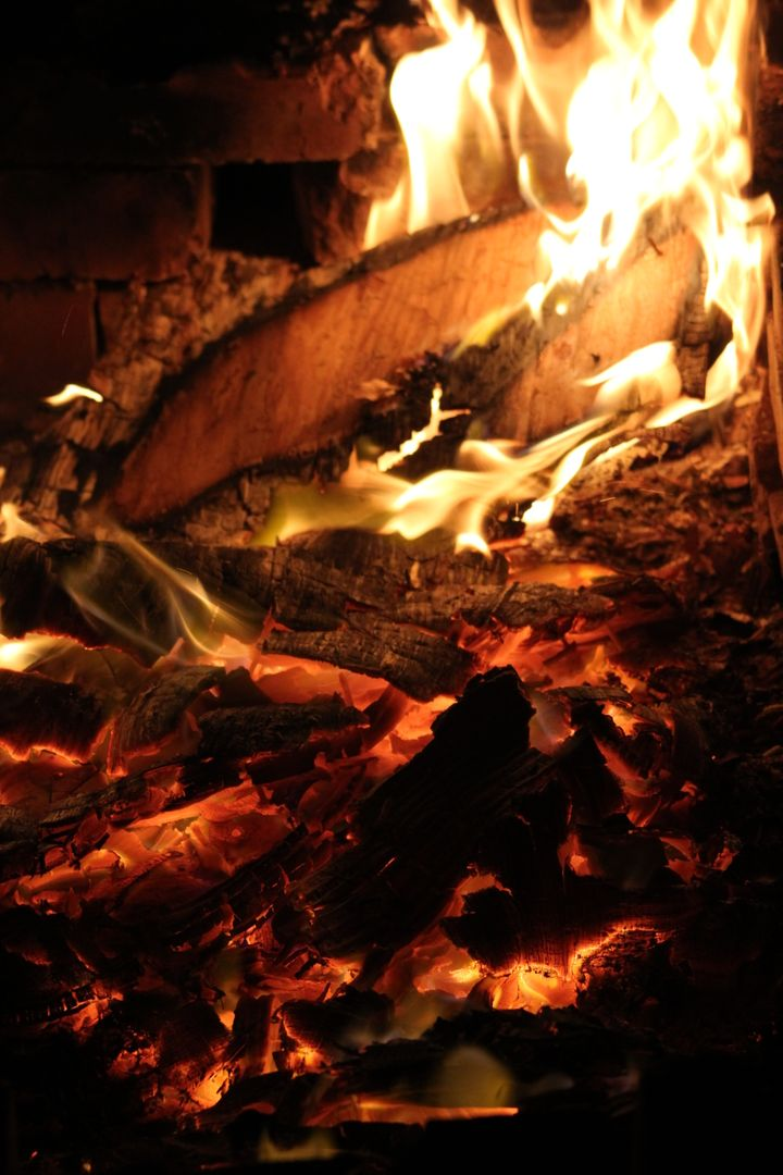 Fuel Fireplace Barbecue