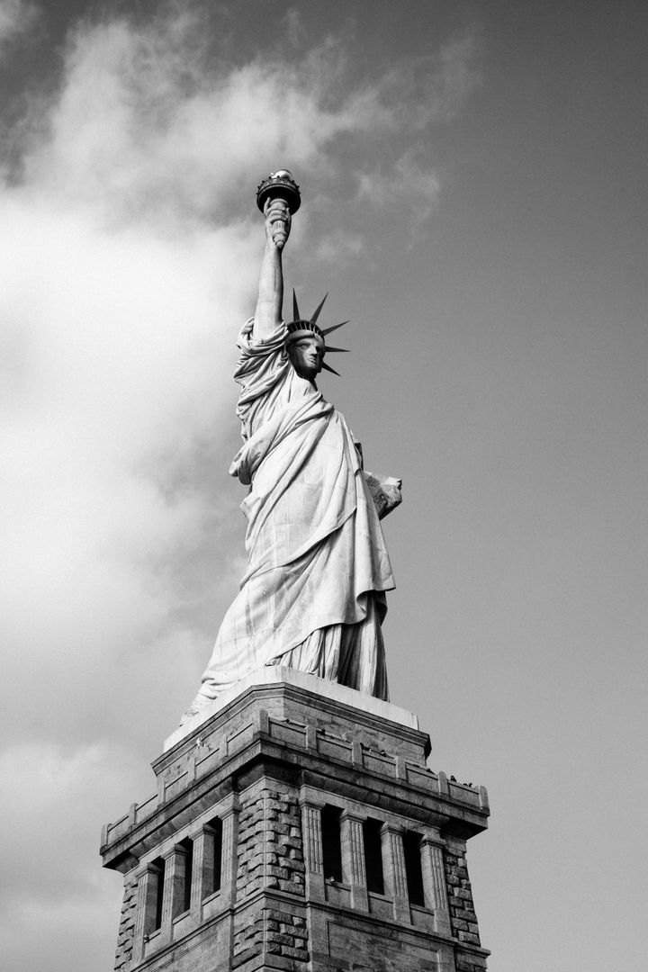Statue of liberty architecture New York