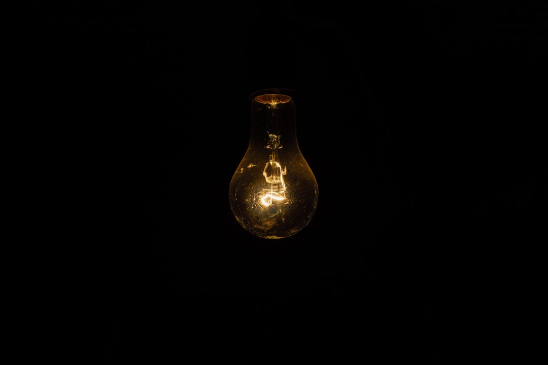 Light bulb lightbulb glow