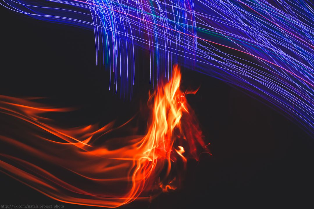 Image of a Animated Fire