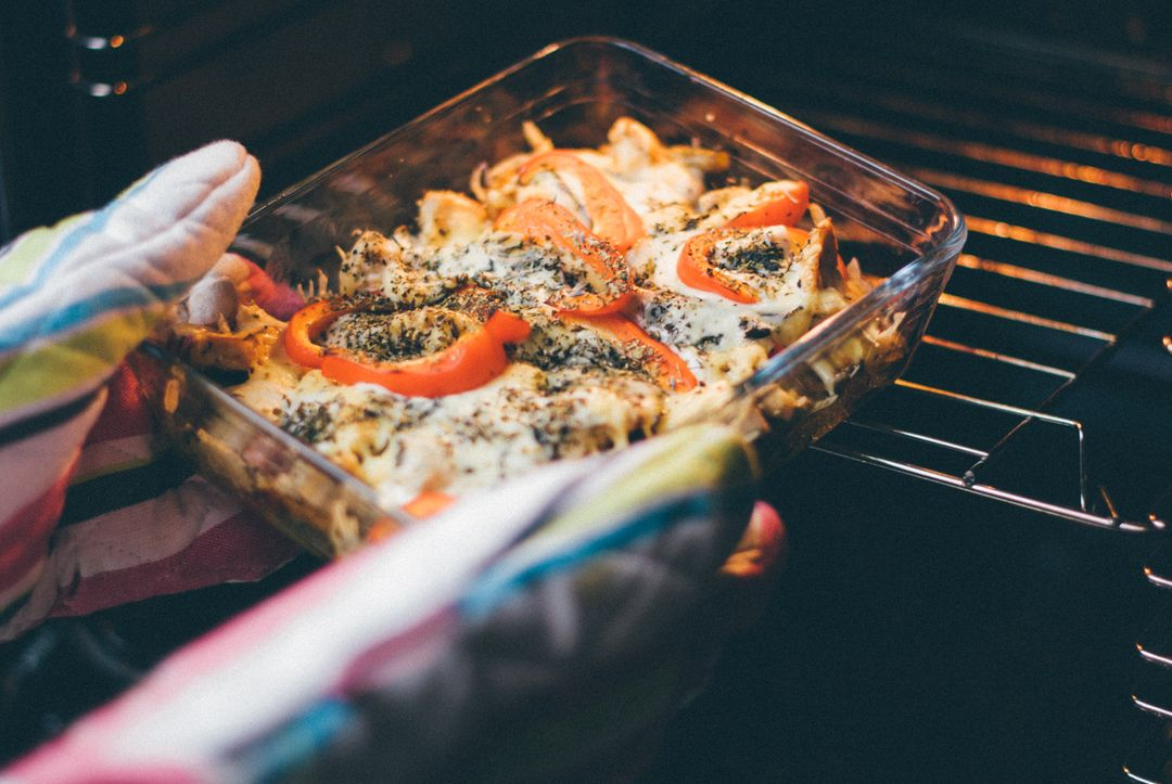 How To Start A Food Blog - casserole dish oven tomatoes