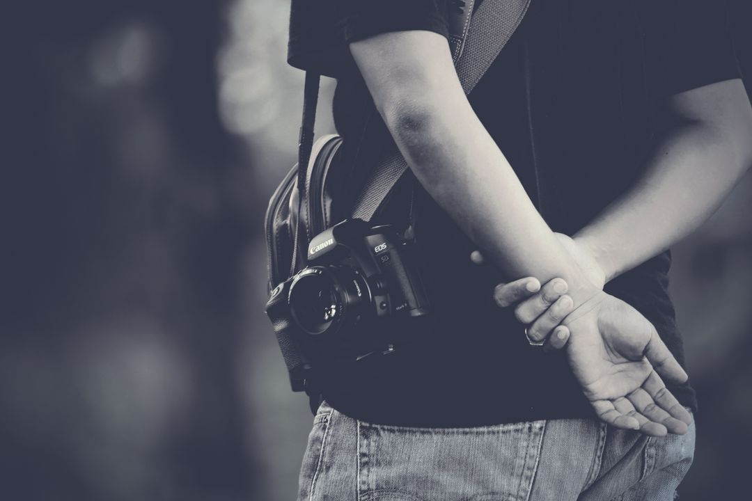 Black White Canon Camera Free Photo Free Stock Images from PikWizard