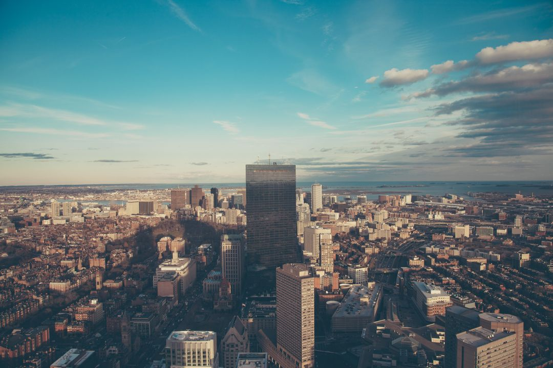 Prudential Tower View Boston