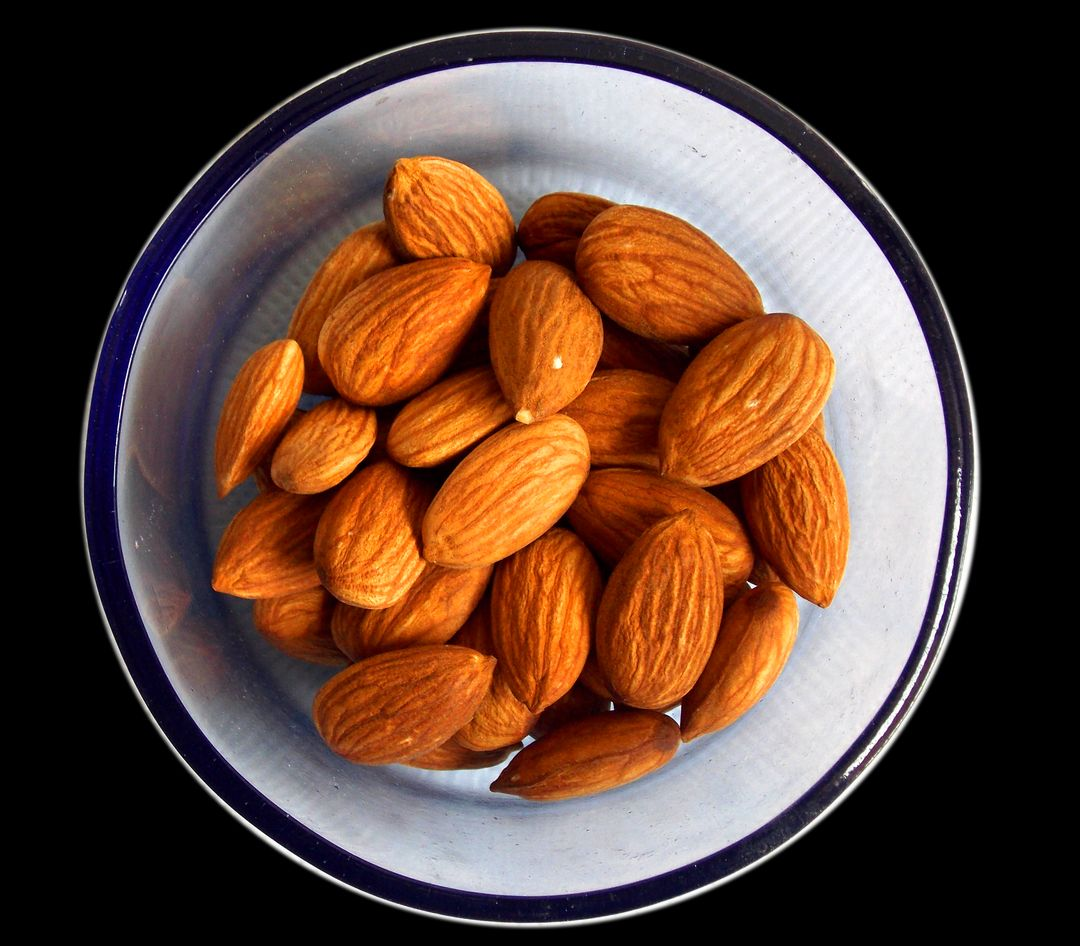 Almond almonds asia cholesterol