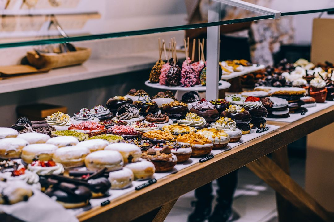 Donuts and Bagel Display