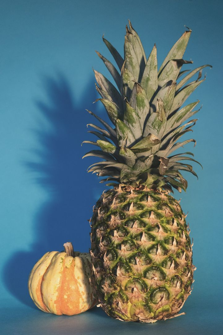 Produce Pineapple Fruit
