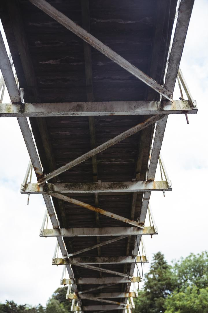 Low angle view of old bridge, backgrounds Free Stock Images from PikWizard