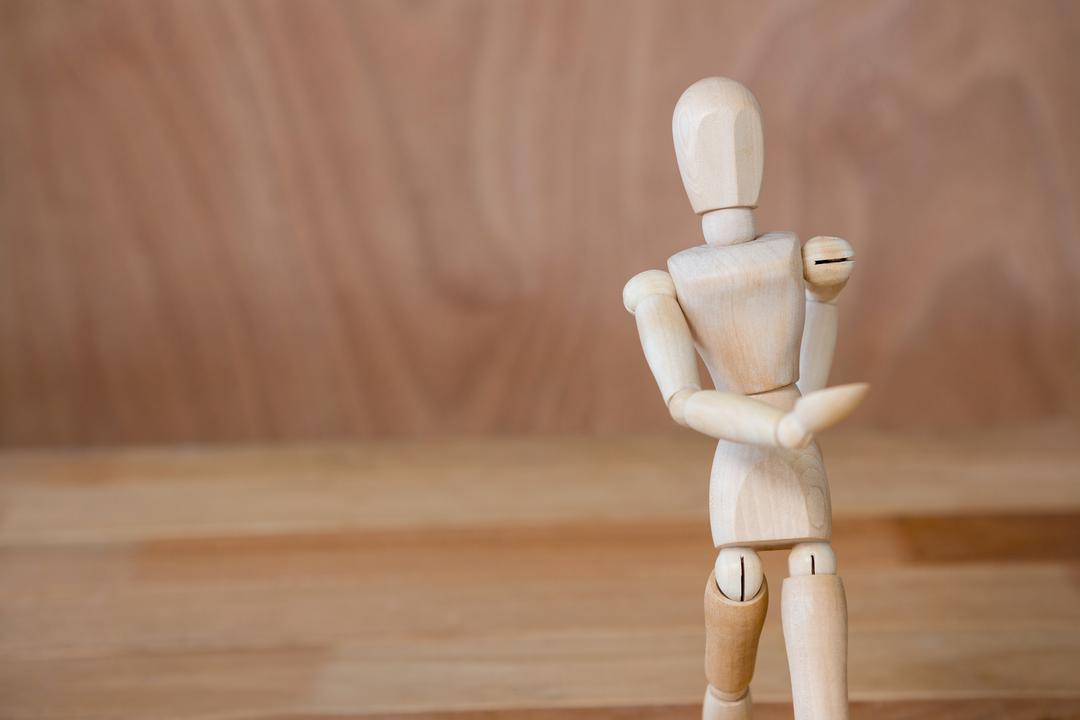 Conceptual image of figurine taking a walk Free Stock Images from PikWizard