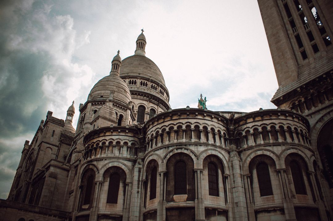 Castle church church building montmartre