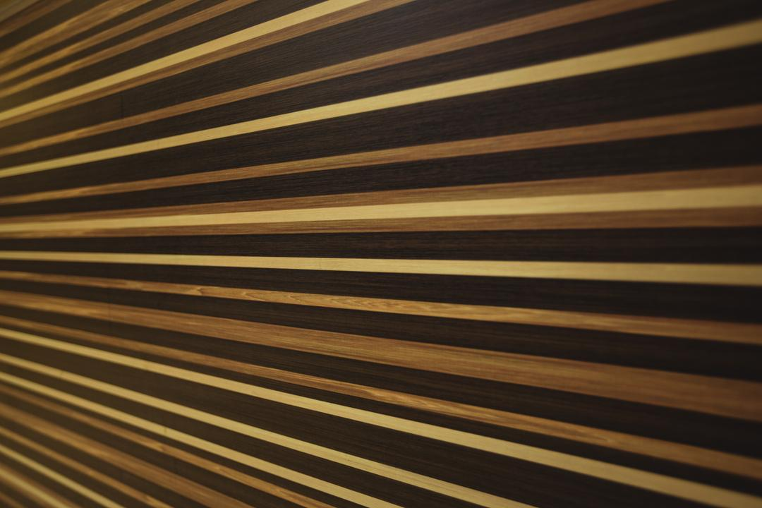 Striped pattern on wooden surface background, full frame