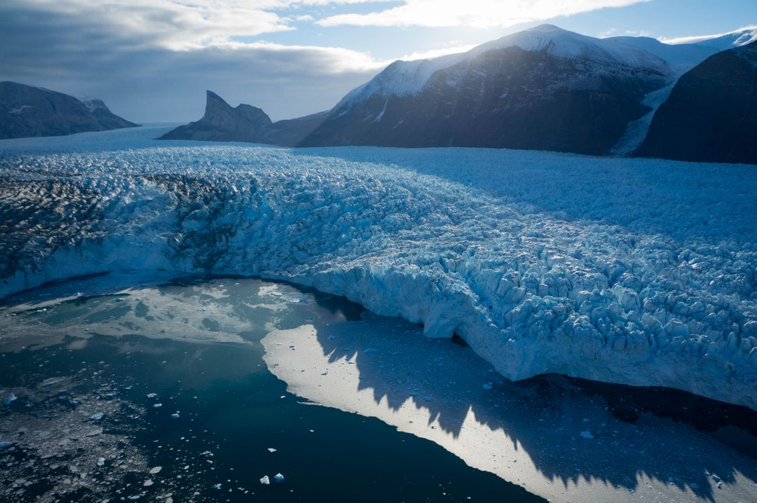 "A new NASA-funded study has identified which glaciers in West Greenland are most susceptible to thinning in the coming decades by analyzing how they're shaped. The research could help predict how much the Greenland Ice Sheet will contribute to future sea level rise in the next century, a number that currently ranges from inches to feet.  ""There are glaciers that popped up in our study that flew under the radar until now,"" said lead author Denis Felikson, a graduate research assistant at The University of Texas Institute for Geophysics (UTIG) and a Ph.D. Student in The University of Texas Department of Aerospace Engineering and Engineering Mechanics. Felikson's study was published in Nature Geoscience on April 17.  Read more: <a href=""https://go.nasa.gov/2pJJwNA"" rel=""nofollow"">go.nasa.gov/2pJJwNA</a>  Caption: Terminus of Kangerlugssuup Sermerssua glacier in west Greenland  Photo credit: Denis Felikson, Univ. Of Texas  <b><a href=""http://www.nasa.gov/audience/formedia/features/MP_Photo_Guidelines.html"" rel=""nofollow"">NASA image use policy.</a></b>  <b><a href=""http://www.nasa.gov/centers/goddard/home/index.html"" rel=""nofollow"">NASA Goddard Space Flight Center</a></b> enables NASA's mission through four scientific endeavors: Earth Science, Heliophysics, Solar System Exploration, and Astrophysics. Goddard plays a leading role in NASA's accomplishments by contributing compelling scientific knowledge to advance the Agency's mission.  <b>Follow us on <a href=""http://twitter.com/NASAGoddardPix"" rel=""nofollow"">Twitter</a></b>  <b>Like us on <a href=""http://www.facebook.com/pages/Greenbelt-MD/NASA-Goddard/395013845897?ref=tsd"" rel=""nofollow"">Facebook</a></b>  <b>Find us on <a href=""http://instagrid.me/nasagoddard/?vm=grid"" rel=""nofollow"">Instagram</a></b>"