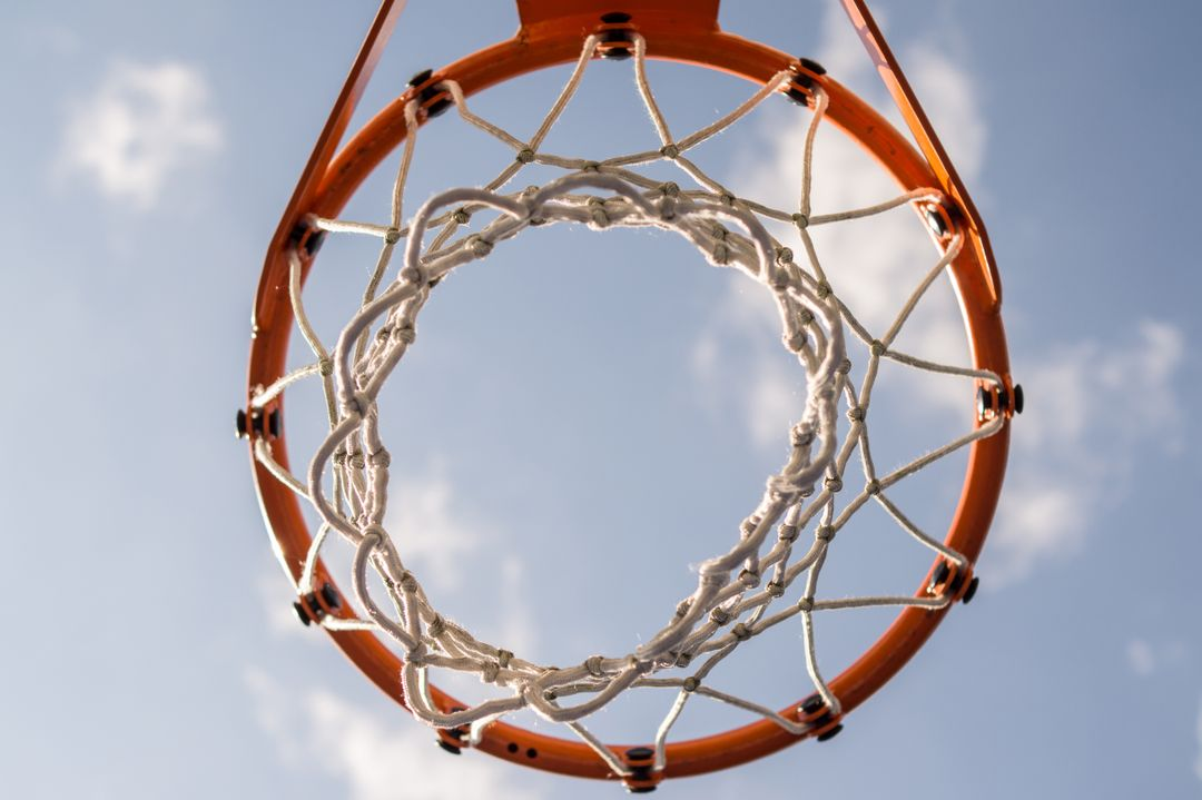 Basketball net hoop