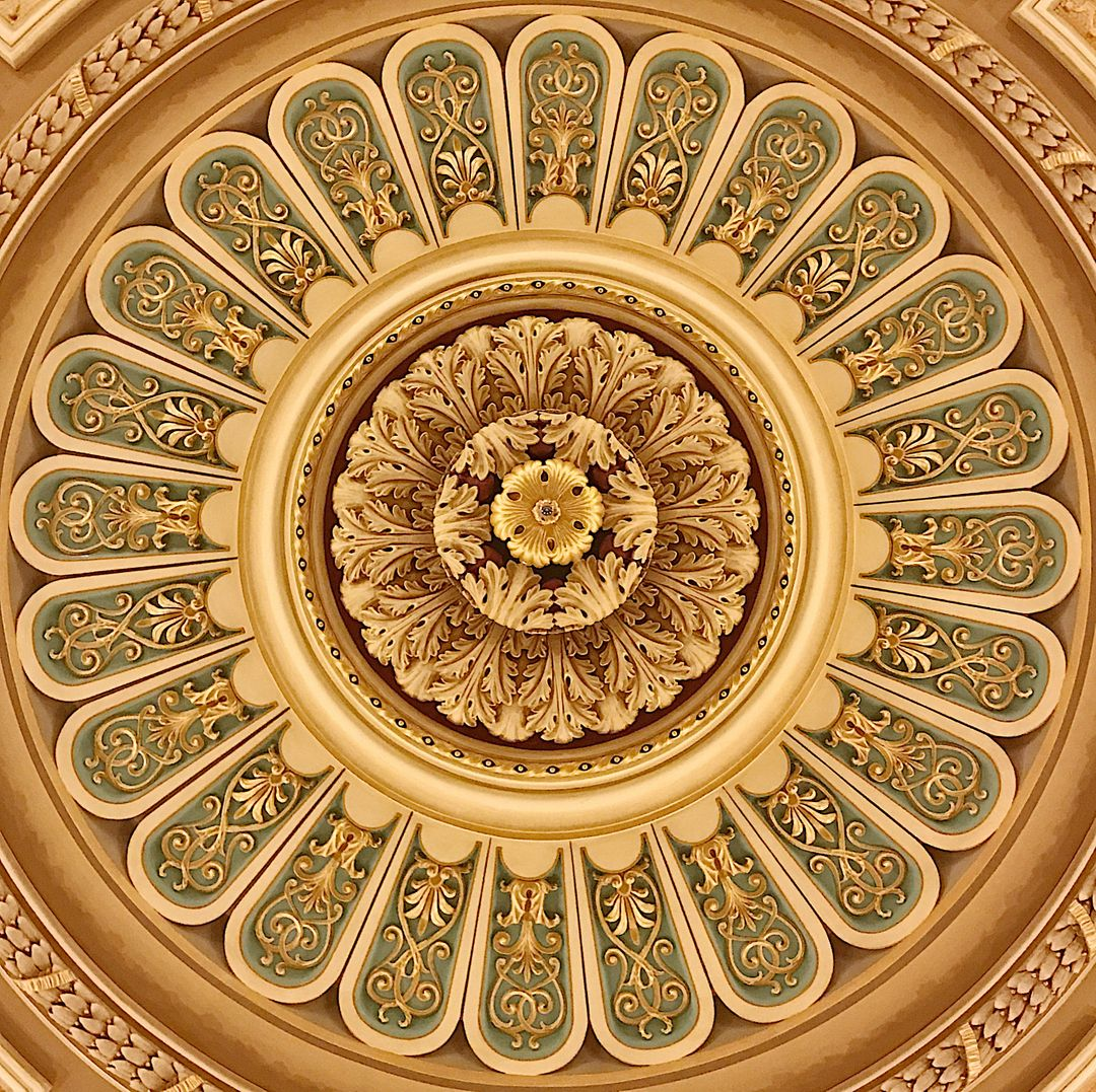 Arabesque Pattern Dome