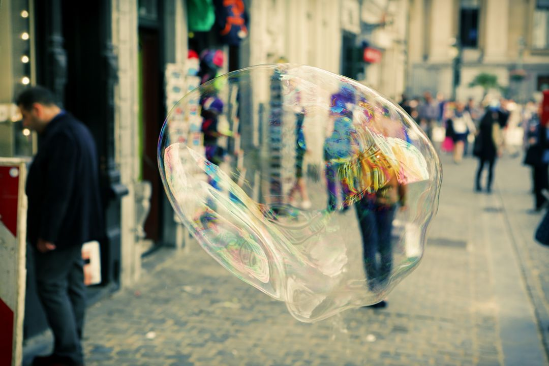 Bubble soap street