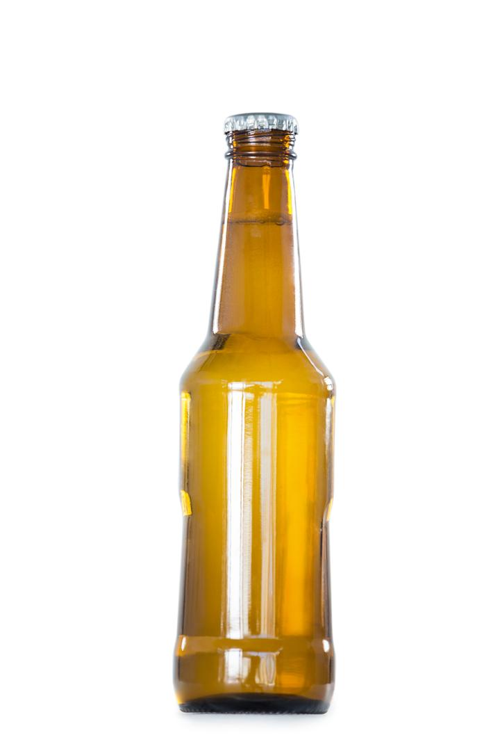 Close-up of beer bottle on white background Free Stock Images from PikWizard